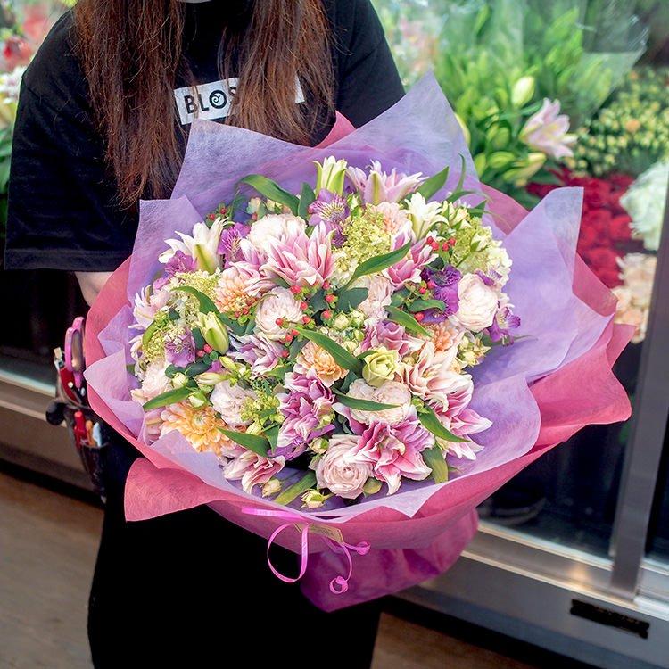 季節の花束(特大)ブーケタイプ