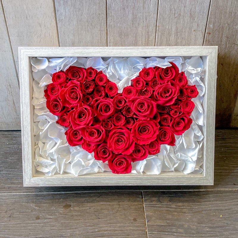 プリザーブドフラワー バラの宝石箱