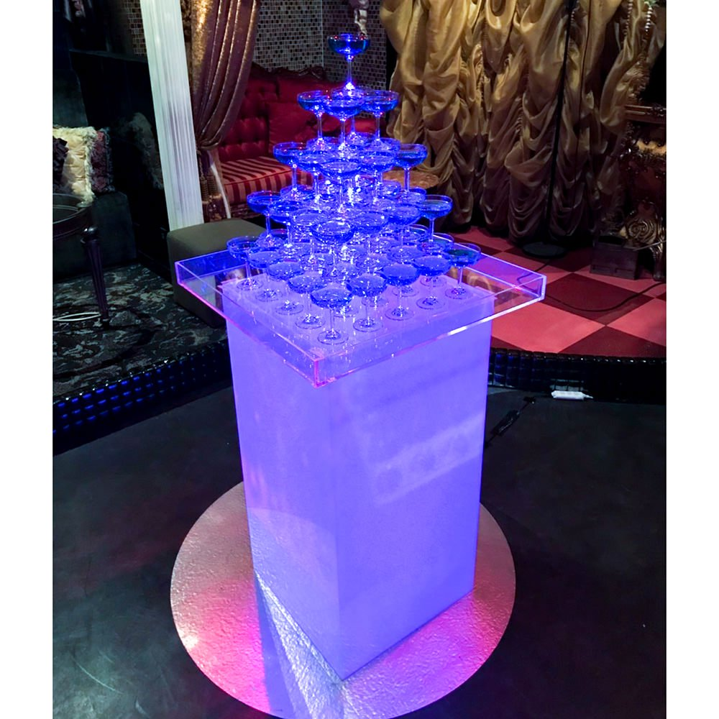 シャンパンタワー5段(四角形)