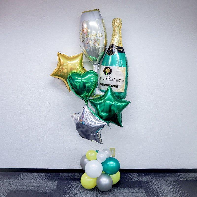 バルーンギフト シャンパン