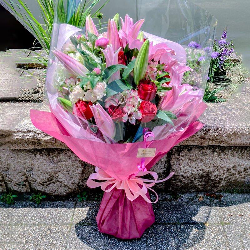 季節の花束(大)ワンサイド