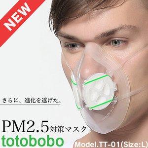 PM2.5対策用マスク totobobo Model.TT-01