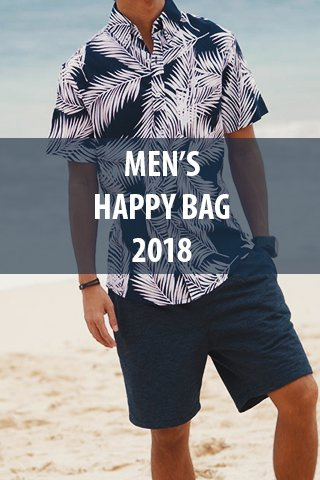 Men's Happy Bag 2018