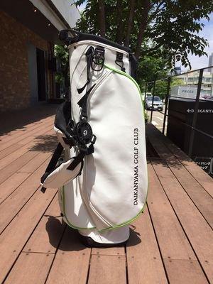 代官山ゴルフ倶楽部 オリジナルスタンドバッグ
