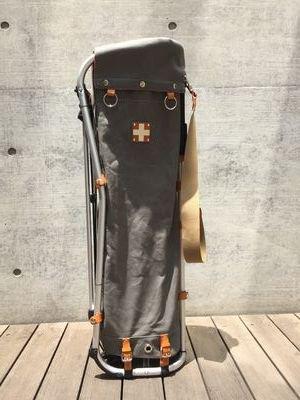 【木の庄帆布別注】木の庄帆布 キャディバッグ セメントグレイ