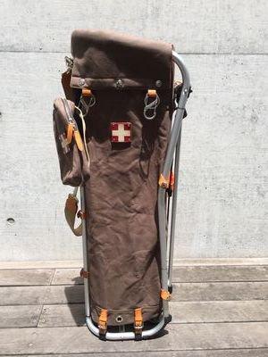 【木の庄帆布別注】木の庄帆布 キャディバッグ カーキブラウン