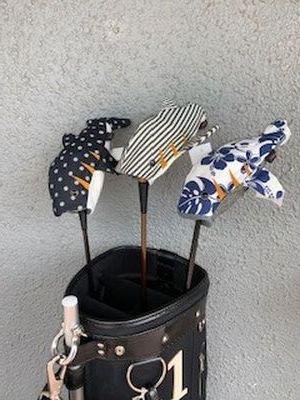 木の庄帆布ヘッドカバー シャーク【FW用】・ホエール【UT用】