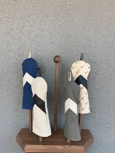 木の庄帆布 帆布×レザーヘッドカバー フェアウェイウッド【アロー】