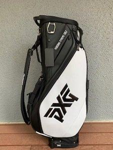 PXG 2020 HYBRID STAND BAG WHITE&BLACK