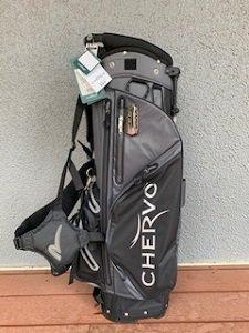 CHERVO(シェルボ) '20スタンドキャディバッグ グレー/ブラック