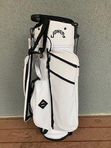 21年モデル JONES スタンドバッグ スノーホワイト