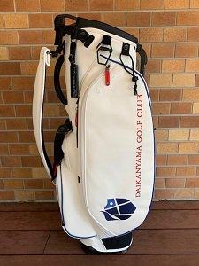 代官山ゴルフ倶楽部 '21オリジナルスタンドバッグ ホワイト