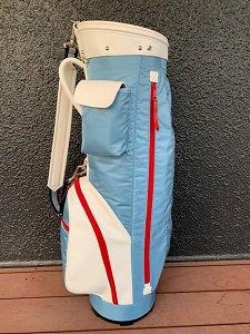 代官山ゴルフ倶楽部 オリジナル ナイロンキャディバッグ サックス