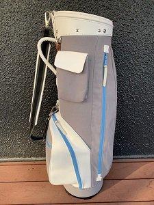 代官山ゴルフ倶楽部 オリジナル 帆布キャディバッグ グレー