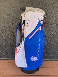 代官山ゴルフ倶楽部 オリジナルライトスタンドバッグ ホワイト