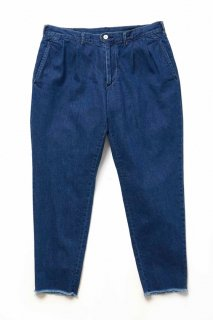 9 oz DENIM CUT OFF TROUSER(INDIGO processing) -ETHOS- 16S/S