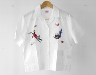 Bowling shirt(WHITE)