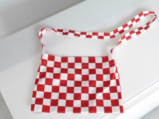 Checker Sacoche(RED)