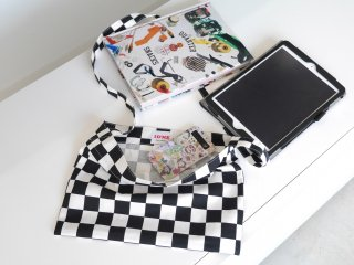Checker Sacoche(BLACK)