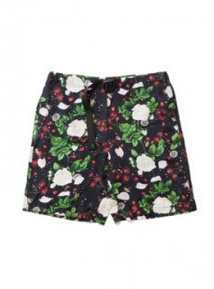 BAL/WILDTHINGS® WHITE ROSES CLIMBING SHORT(BLACK)