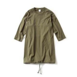 LADY'S OVERSIZE T(DEEP OLIVE)