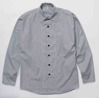 STRIPE RYOSHI SHIRTS(BLACK STRIPE)