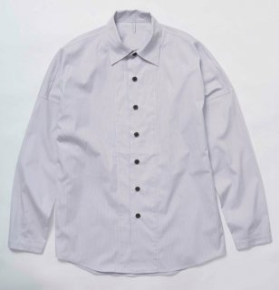 STRIPE RYOSHI SHIRTS(GRAY STRIPE)