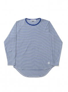 DUCK TALE THIN STRIPED TEE(BLUE)