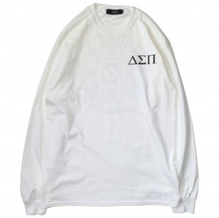 MAGIC CIRCLE L/S TEE (WHITE)