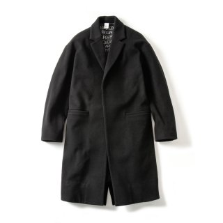 DROP SHOULDER 1B COAT(BLACK)