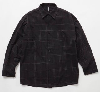 KASURI BIG NEL SHIRTS(BLACK)