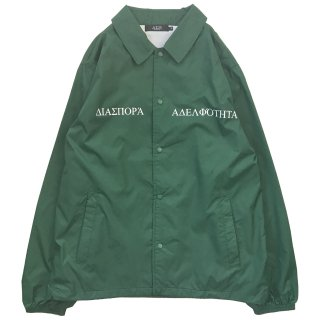 LONG LETTER MAGIC CIRCLE COACH JACKET (IVY GREEN)
