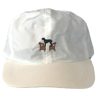 DIASPORA/NO ROLL DOC BASEBALL CAP (WHITE)