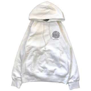 SMALL MAGIC CIRCLE HOODED SWEAT (WHITE)