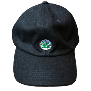 WEED WOOL CAP(NAVY)