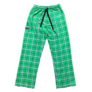 <img class='new_mark_img1' src='//img.shop-pro.jp/img/new/icons5.gif' style='border:none;display:inline;margin:0px;padding:0px;width:auto;' />PLAID PAJAMA PANTS(GREEN)