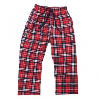 PLAID PAJAMA PANTS(NAVY)