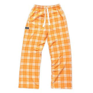 PLAID PAJAMA PANTS(YELLOW)