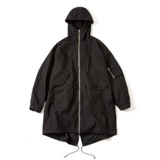 TYPE M-65 MIL COAT(BLACK)
