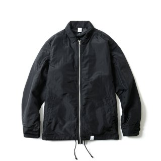 PARACHUTE ZIP SHIRT JKT(BLACK)