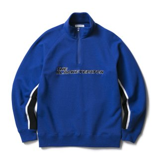 ZIP PULLOVER SWEAT(BLUE)