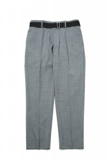 CORDURA COMBAT WOOL TROUSERS WUTH NYLON BELT(GRAY)