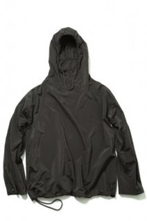 HOODED WINDBREAKER(BROWN)