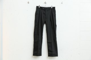 TWO TUCK PANTS(BLACK)