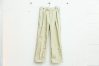 TWO TUCK PANTS(CREAM)