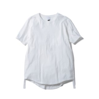 "NEW ROUND TAIL CLAS""SICK"" TEE (WHITE)"