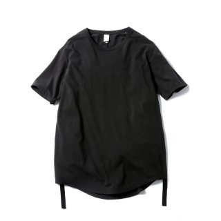 "NEW ROUND TAIL CLAS""SICK"" TEE (BLACK)"