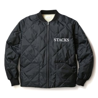 QUILTING JACKET(BLACK)