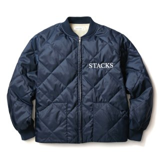 QUILTING JACKET(NAVY)