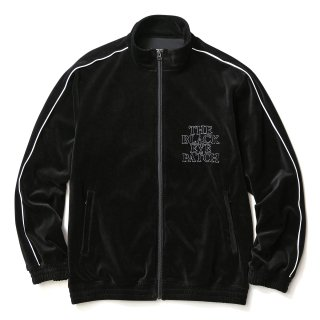 VELOUR JACKET(BLACK)